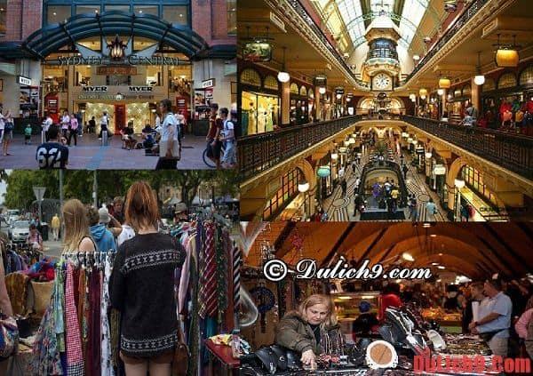 Kinh nghiệm mua sắm khi du lịch Sydney, Úc