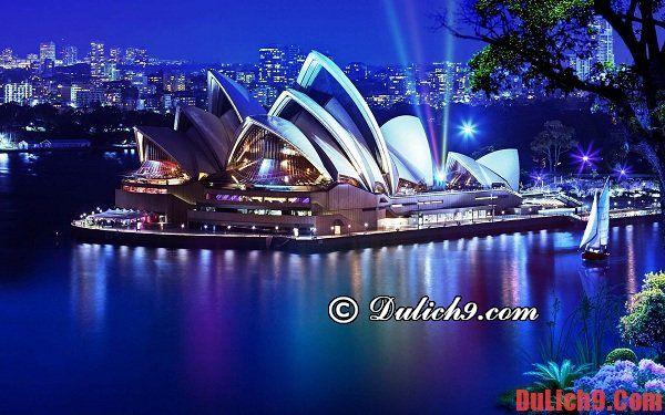 Kinh nghiệm, hướng dẫn, cẩm nang và tư vấn du lịch Sydney, Úc giá rẻ, tự túc