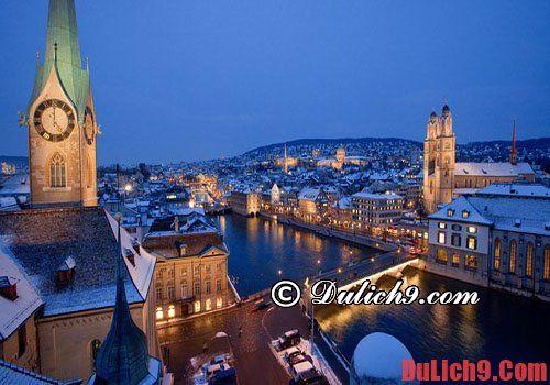 Kinh nghiệm du lịch Thụy Sĩ đầy đủ