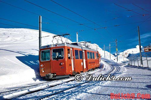 Kinh nghiệm du lịch Thụy Sĩ thuận tiện