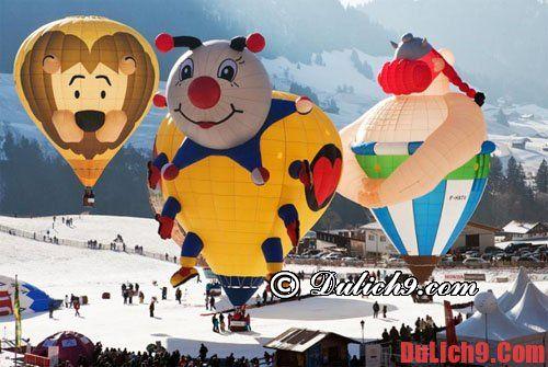 Lễ hội khinh khí cầu, lễ hội quốc tế tại Thụy Sĩ