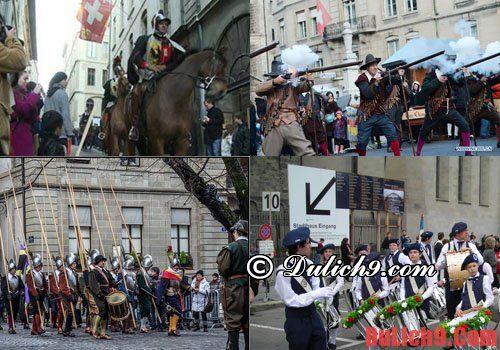 Ngày lễ Escalade, ngày lễ lịch sử chiến tranh Thụy Sĩ
