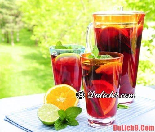 Những thức uống Tây Ban Nha nổi tiếng