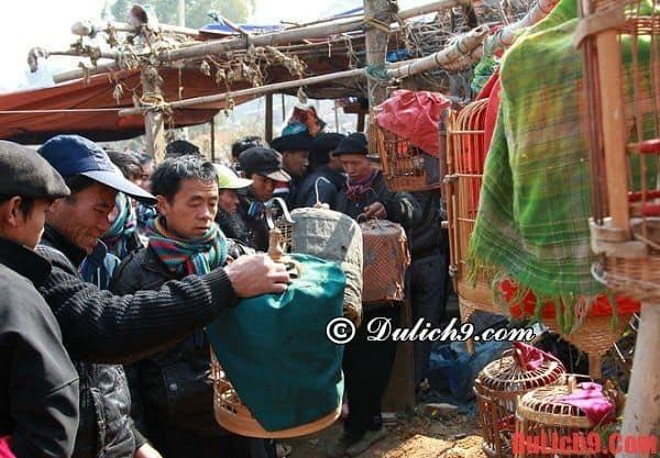 Chợ phiên vùng cao Hà Giang lúc nào cũng đông vui tấp nập người