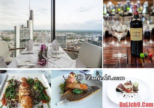 Nhà hàng, quán ăn, địa chỉ ăn uống đắt nhưng ngon và đẹp nên đến khi du lịch Frankfurt, Đức