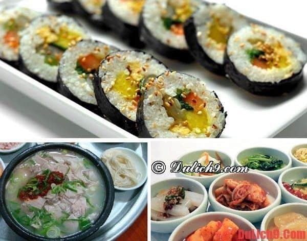 Những địa chỉ quán ăn ngon, rẻ và nổi tiếng ở Busan