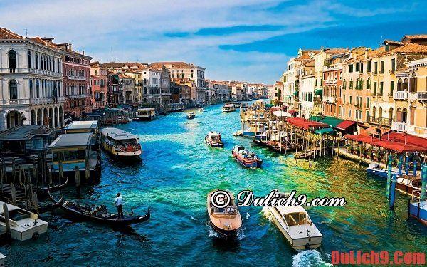 Kênh đào Grand Canal - Thắng cảnh lãng mạn và tiêu biểu nên đến nhất khi du lịch Venice, Ý