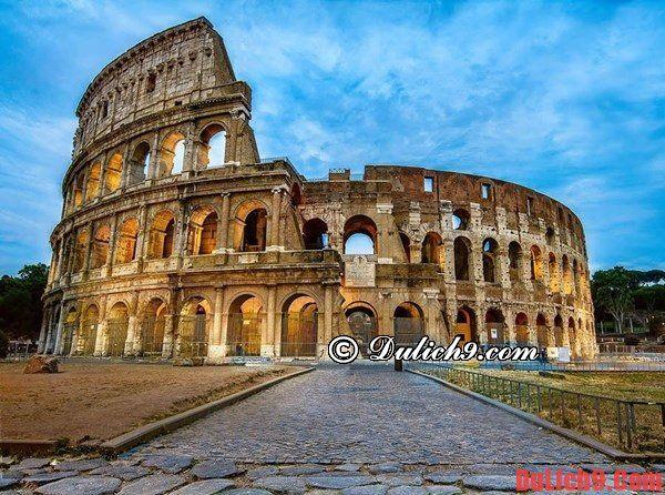 Đấu trường La Mã Colosseum - Địa danh không thể không đến chiêm ngưỡng một lần khi du lịch Rome, Italia