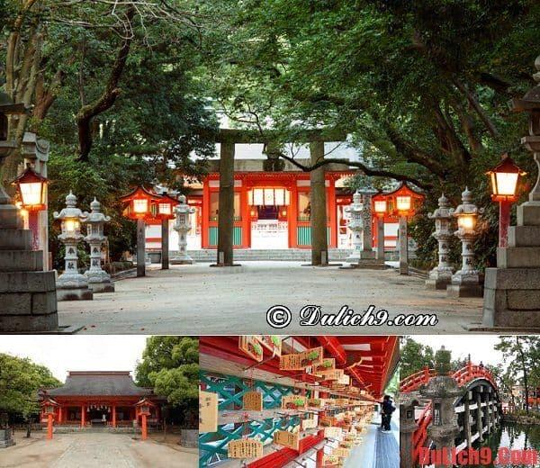 Những điểm tham quan nổi bật nên đi khi du lịch Fukuoka - Đền Sumiyoshi-jinja