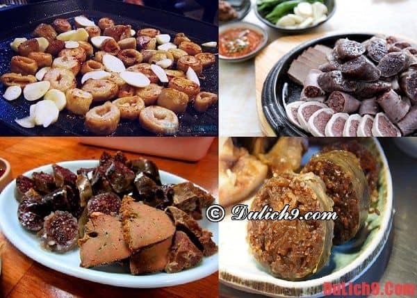 Dồi lợn Sundae - Khúc biến tấu độc đáo của ẩm thực đường phố Hàn Quốc không thể không ăn một lần
