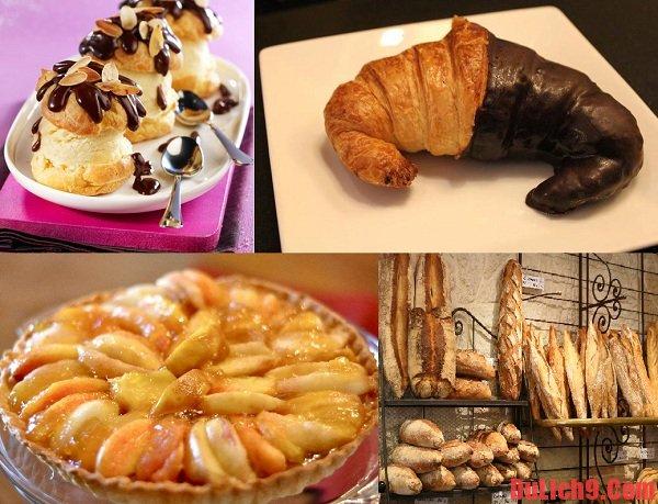 Du lịch Paris và thưởng thức những loại bánh ngon, nổi tiếng của ẩm thực Pháp