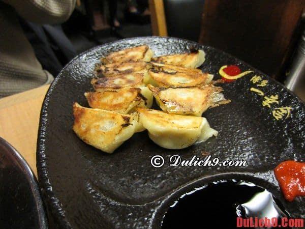 Hakata Gyoza - Món ăn đêm phổ biến nổi tiếng ở Fukuoka, Nhật Bản