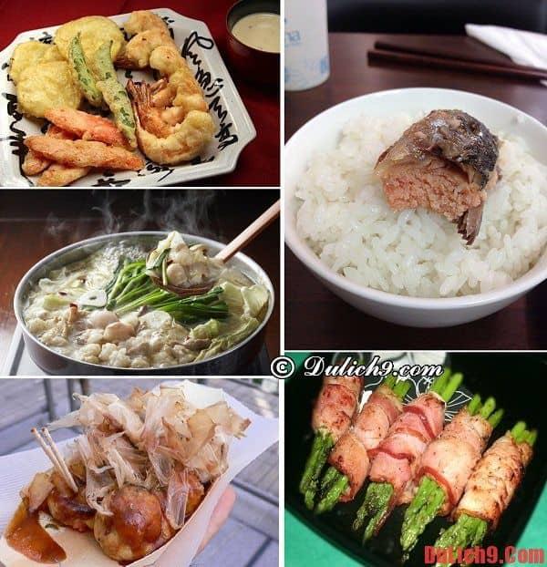 Du lịch Fukuoka thưởng thức những món ăn đường phố nổi tiếng nhất