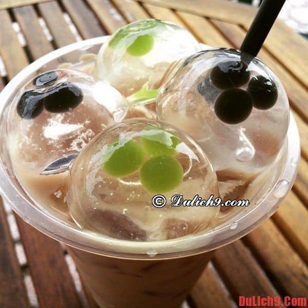 Trà sữa mochi - Du lịch Sài Gòn thưởng thức đồ uống ngon, độc, lạ