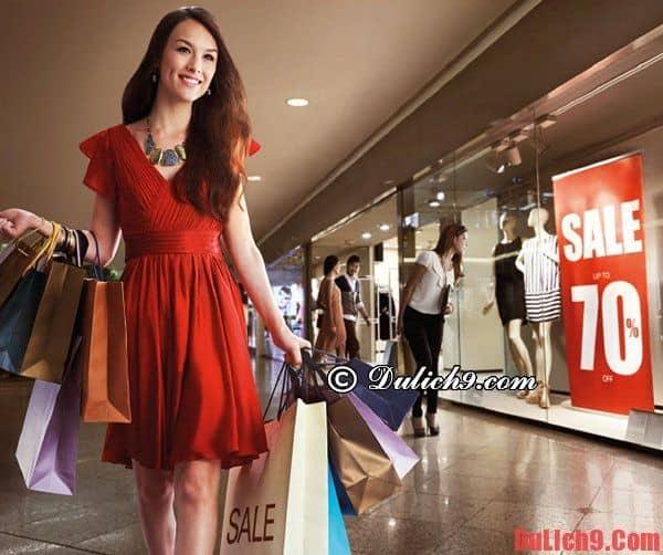 Tháng 8 du lịch mua sắm mùa sale ở các nước Châu Á
