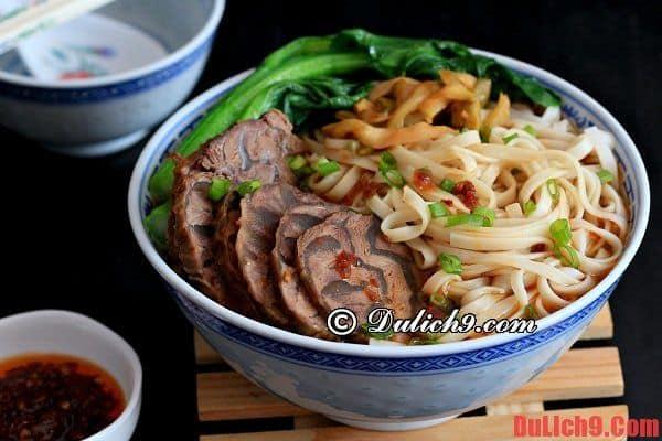 Du lịch Đài Bắc và thưởng thức mỳ thịt bò nổi tiếng