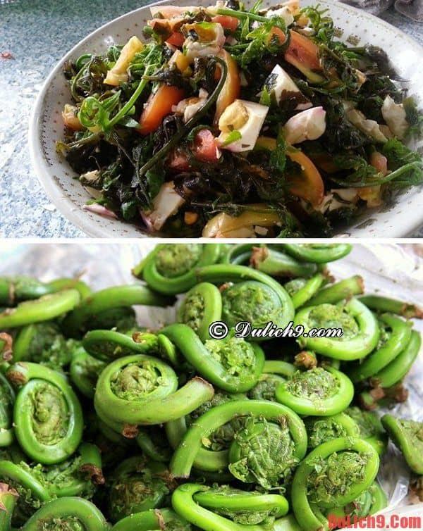 Salad dương xỉ - Top 5 món ngon độc, lạ, phải thử khi du lịch Taipei tự túc, vui vẻ