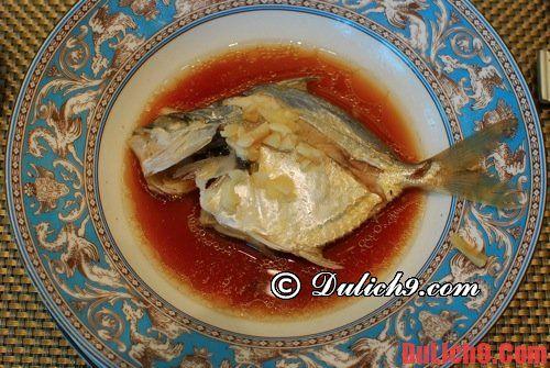 Cá Triangle - món ăn truyền thống, đặc trưng của Đài Loan không thể không ăn khi du lịch Taipei