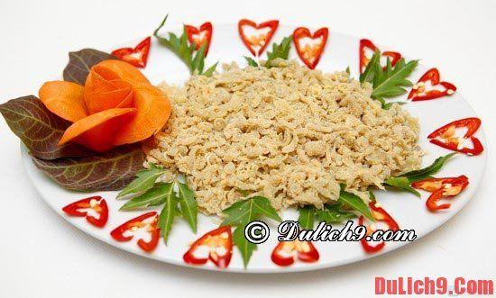 4 món ăn nổi tiếng Ninh Bình