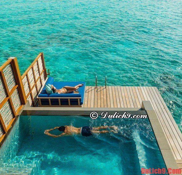 Thuê khách sạn, Resort ở Maldives