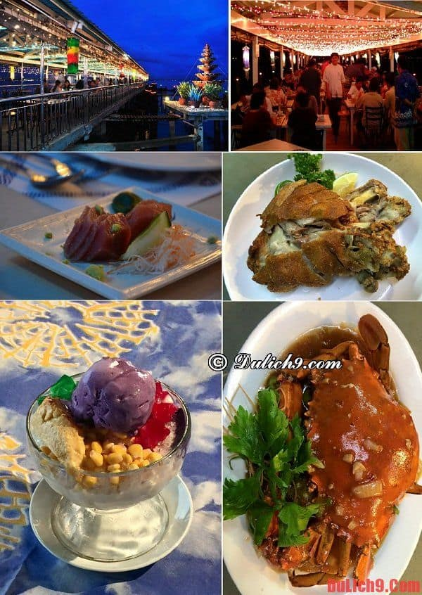 Nhà hàng Harbor View - Nhà hàng ăn uống đẹp, ngon và rẻ nên ghé qua khi du lịch Manila, Philippines