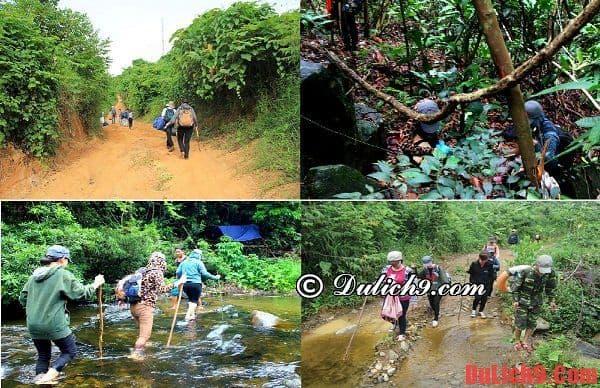 Hành trình trekking phượt Giếng Trời, Đà Nẵng ngày cuối tuần