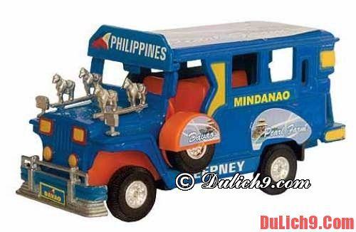 Mô hình xe Jeep - Món quà lưu niệm độc đáo không thể không mua khi du lịch Philippines