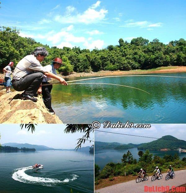Tận hưởng ngày cuối tuần vui vẻ, thoải mái ở hồ Phú Ninh - Điểm tham quan, nghỉ dưỡng nổi bật nên đến khi du lịch Đà Nẵng