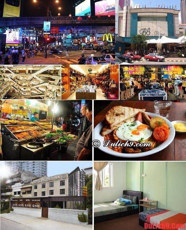 Bukit Bintang - Khu vực có nhiều khách sạn giá rẻ, chất lượng và địa chỉ ăn chơi nổi tiếng nên ở nhất khi du lịch Kuala Lumpur