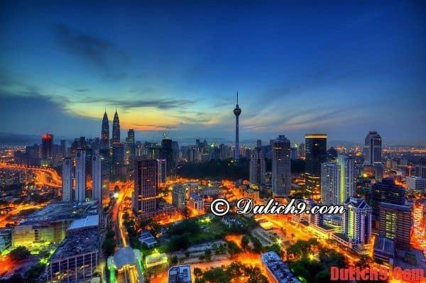 Gợi ý chỗ ở, khu vực lưu trú khi du lịch Kuala Lumpur