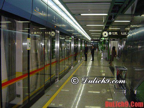 Hướng dẫn đi tàu điện ngầm Quảng Châu
