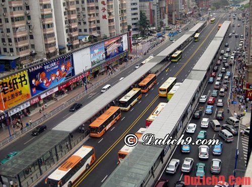 Kinh nghiệm du lịch Quảng Châu bằng xe bus