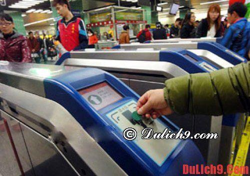 Hướng dẫn kinh nghiệm du lịch Quảng Châu bằng tàu điện ngầm