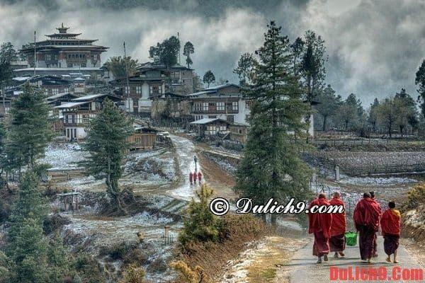 Kinh nghiệm du lịch Bhutan - địa điểm tham quan nổi tiếng