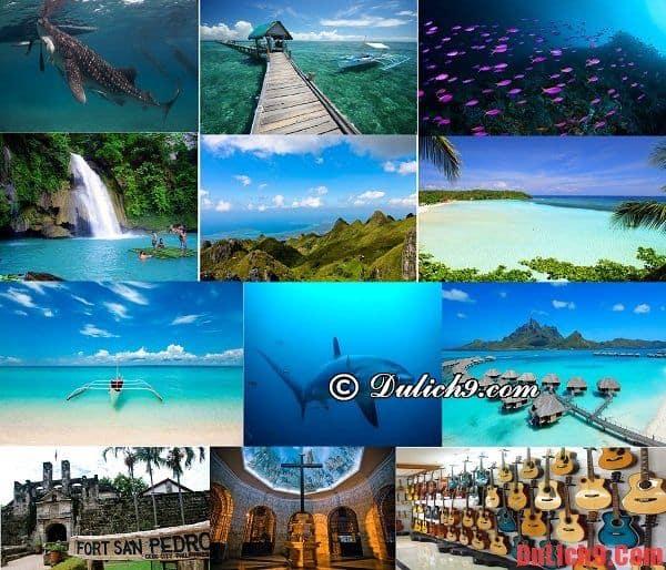 Những điểm đến lý tưởng, hấp dẫn và nổi bật nhất định phải đến khi du lịch đảo Cebu, Philippines