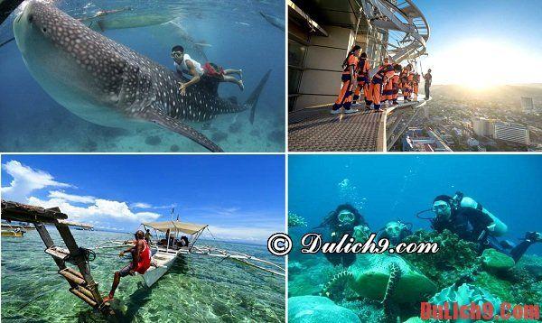 Những trải nghiệm, hoạt động vui chơi thú vị không nên bỏ lỡ khi du lịch Cebu, Philippines