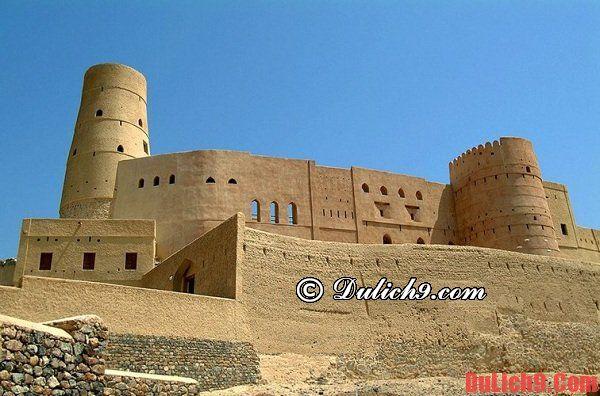 Điểm đến lý tưởng nhất ở Oman
