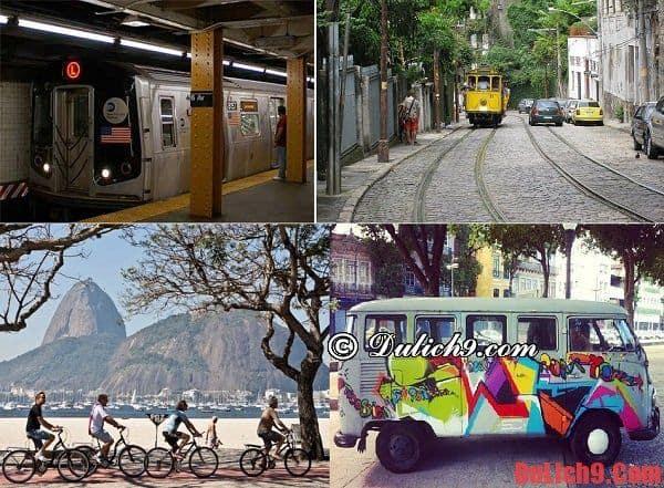 Kinh nghiệm di chuyển, đi lại và sử dụng phương tiện công cộng khi tham quan Rio de Janeiro