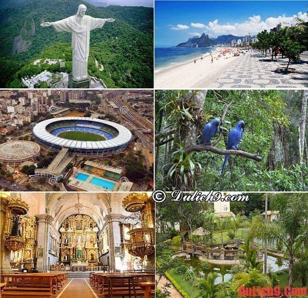 Những cảnh quan và điểm đến nổi tiếng và tuyệt nhất Rio de Janeiro, Brazil không thể bỏ lỡ