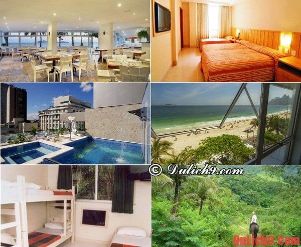 Hướng dẫn cách đặt phòng khách sạn, nhà nghỉ khi du lịch Rio de Janeiro tiết kiệm và trải nghiệm