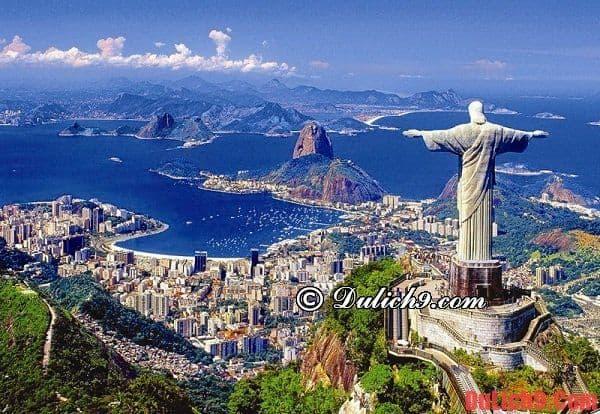 Kinh nghiệm du lịch Rio de Janeiro, Brazil giá rẻ, tự túc, thuận lợi và vui vẻ