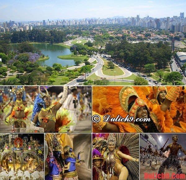 Thời điểm thích hợp nhất để du lịch Sao Paulo vui vẻ