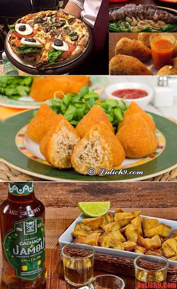 Những món ăn ngon nên thưởng thức khi du lịch sao Paulo