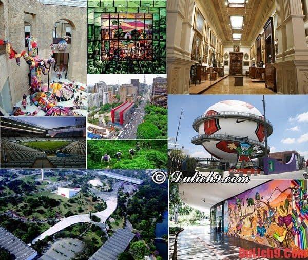 Những địa điểm tham quan, du lịch nổi tiếng nên đến ở Sao Paulo