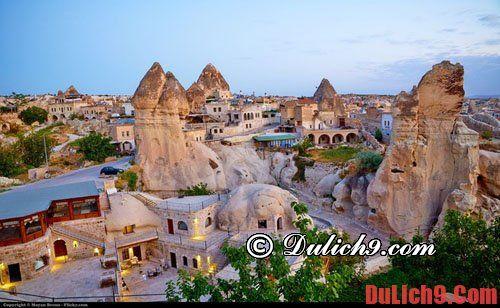 Hướng dẫn kinh nghiệm du lịch Thổ Nhĩ kỳ cho tiết nhất