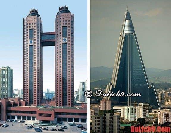 Một số khách sạn nổi tiếng và nên ở khi du lịch Triều Tiên