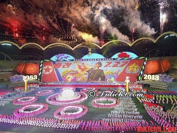 Những thời điểm tuyệt nhất để du lịch Triều Tiên giá rẻ và vui vẻ