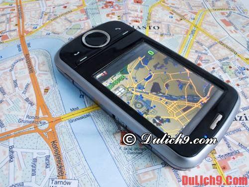 Có sẵn GPS và RATP trong điện thoại để tránh lạc đường khi du lịch Paris tự túc