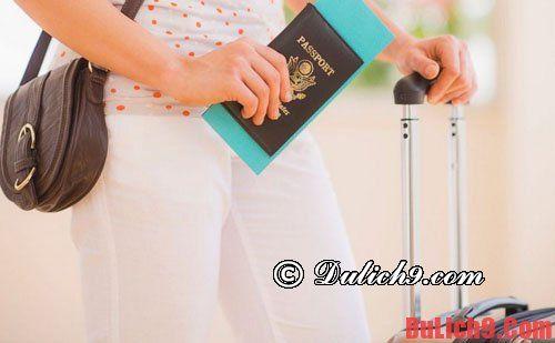 Kinh nghiệm giữ hộ chiêu an toàn khi du lịch nước ngoài