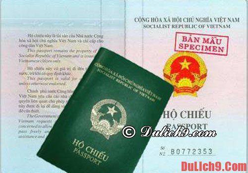 Kinh nghiệm giữ hộ chiếu an toàn tránh bị mất cắp